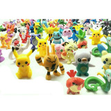 80 Figuras Pokemon 2 A 3 Cm