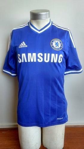 be39f69f75 Camiseta Chelsea 2013-2014 Titular adidas Impecable Estado
