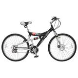 Bicicleta Lahsen Mtb 26 New Tornado Color Negro