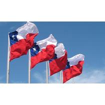 Banderas Chilenas /grandes/ Ideal Instituciones Iva Incl.