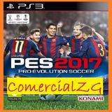 Pro Evolution Soccer 2017 Pes 17 Ps3 Digital - Pase En Linea