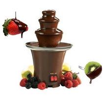 Fuente Cascada Fondue Chocolate Queso Salsas 3 Niveles