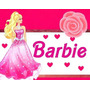 Kit Imprimible Barbie Personalizadas, Cumples Fiesta 2x1