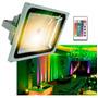 Foco Led Control Remoto Reflector Colores Rgb 10w ,proyector