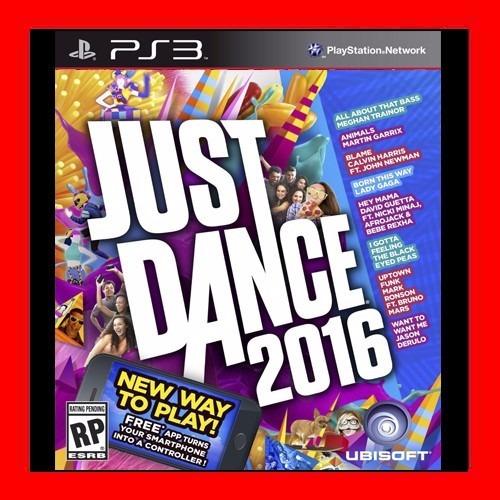 Just Dance  2016 Ps3 Digital Oferta !!!