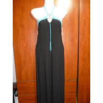 ** Vestido Negro Largo Espalda Descubierta **