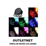 Pack 10 Foco Par 18 Led Alta Luminosidad Rgb Dmx Outletnet
