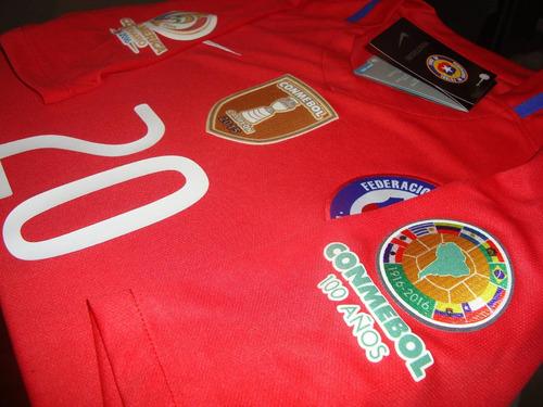Xclusiva Camiseta Nike Chile La Roja Copa America Centenario f10c8c62eb091