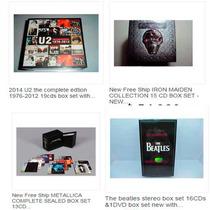 U2 Beatles Pink Floyd Bon Jovi ,etc Box Set Por Encargo!!