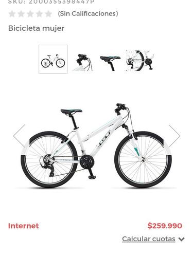 a602e75c993 Bicicleta Gt Blanca Aro 26
