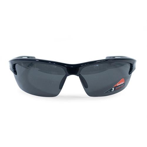 80821049bc Lente De Sol Bolle Bolt Shiny Negro Proteccion Uv Proglobal