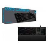 Teclado Gamer Mecanico Logitech G513 Carbon - Johntech