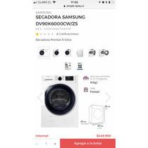 Secadora Samsung Por Condensación 9k