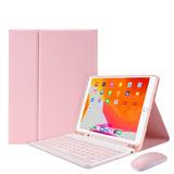 Funda Teclado Español Para iPad Air 3/pro 10.5 Con Ratón