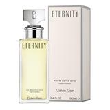 Calvin Klein Eternity Mujer 100ml Edp Silk Perfumes Original