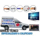 Reparación Televisores Smarttv Domicilio Macbook Notebook Pc