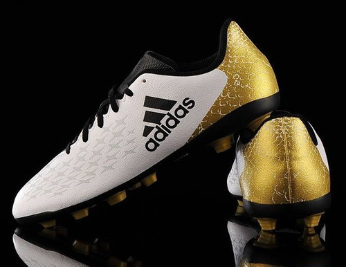 7d5afb5d6d19f Zapatos Fútbol X 16.4 Fxg J adidas Niño Nuevo Y Original