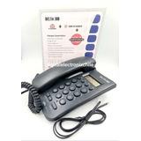 Teléfono Delta Con Identificador De Llamada Mesa/pared Negro