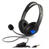 Audifono Gamer Para Ps4 Con Microfono Pc Notebook Celular