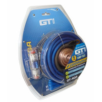 Kit De Cables Amplificador Gti  Gt4ga, 1600 Watts