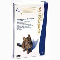 Pipeta Revolution 2.5 - 7.5 Kg Gatos Antiparasitaria Pethome