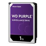 Disco Duro Wd Purple Wd10purz 1tb Surveillance 64mb 5400rpm