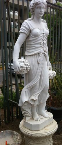 Bellisima Escultura  - Verano  180 Cms+base-