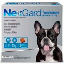 Nexgard 3 Comprimidos Antiparasitario De 4,1 A 10 Kg Pethome