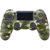 Control Ps4 Sony Oem Inalambrico Dualshock Diseño  Camuflaje