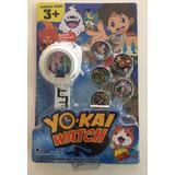 Reloj Yokai Watch Hora + Proyector + 5 Medallas + Sorpresa