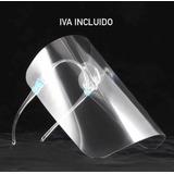 Pack De 10 Escudo Facial Certificado Protector Con Gafas