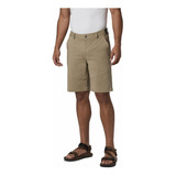 Short Hombre Tech Trail Beige Columbia