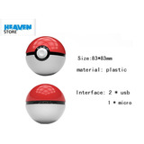 Bateria Externa Pokemon Real 6000mah