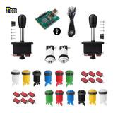 Kit Arcade 2 Players 14 Botones 2 Palancas - Arcade Fox