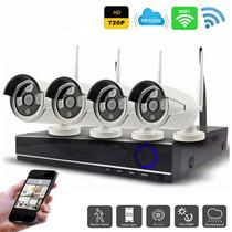 Kit Seguridad Dvr + 4 Camaras Inalam Wifi 01466/ Fernapet