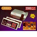 Mini Consola Retro 2000 Juegos Nintendo Nes Clásicos Lehuai