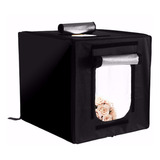 Estudio Set Fotográfico Caja Luz Softbox Portátil 60cmx60cm