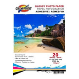 Papel Fotografico Autoadhesivo 20 Hojas A3 135 Grs Creaprint