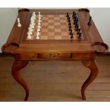 Mesa De Juego Con Doble Cubierta (ajedrez Y Poker) De Rauli