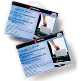 2 Pack 12 Hojas Aceite Lubricante Trituradora Rexel