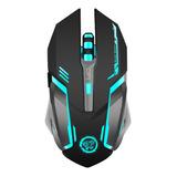Mouse Óptico Gamer Azzor D9 Inalámbrico Recargable B | Dfast