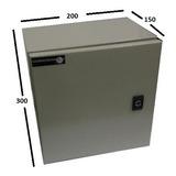 Gabinete Tablero Metálico 300x200x150 Ip65 1 Puerta