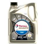 Aceite 10w40 Total Quartz 4l Semi Sintetico Bencina O Diesel