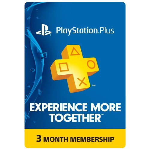 Playstation Plus 3 Meses Estados Unidos - Ps3 / Ps4 / Psvita