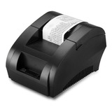 Impresora Térmica Boletas Usb Rollo 58mm