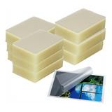 Pack 1000 Micas Laminas Carnet Plastificadora 10 Paquetes