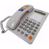 Telefono Fijo Alambrico Sobremesa Visor Registro Altavoz