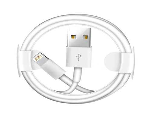 ea16305bfaa Cable Usb iPhone Lightning 1mt 5s/se/6/7/8/x/xs/xr