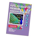 Papel Fotográfico Adhesivo Brillante 50 Hojas A4 135gr