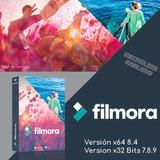 Programa Editor Videos Filmora 8.5 Y 7.8.9 +700 Efectos